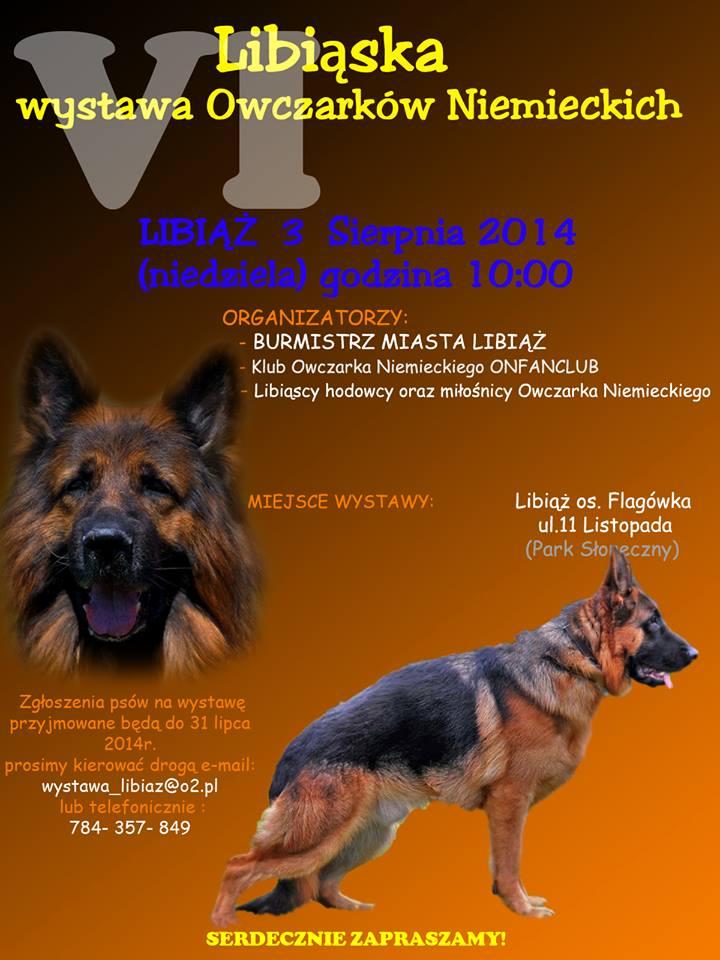 VI Lbiąska Wystawa Owczarków Niemieckich